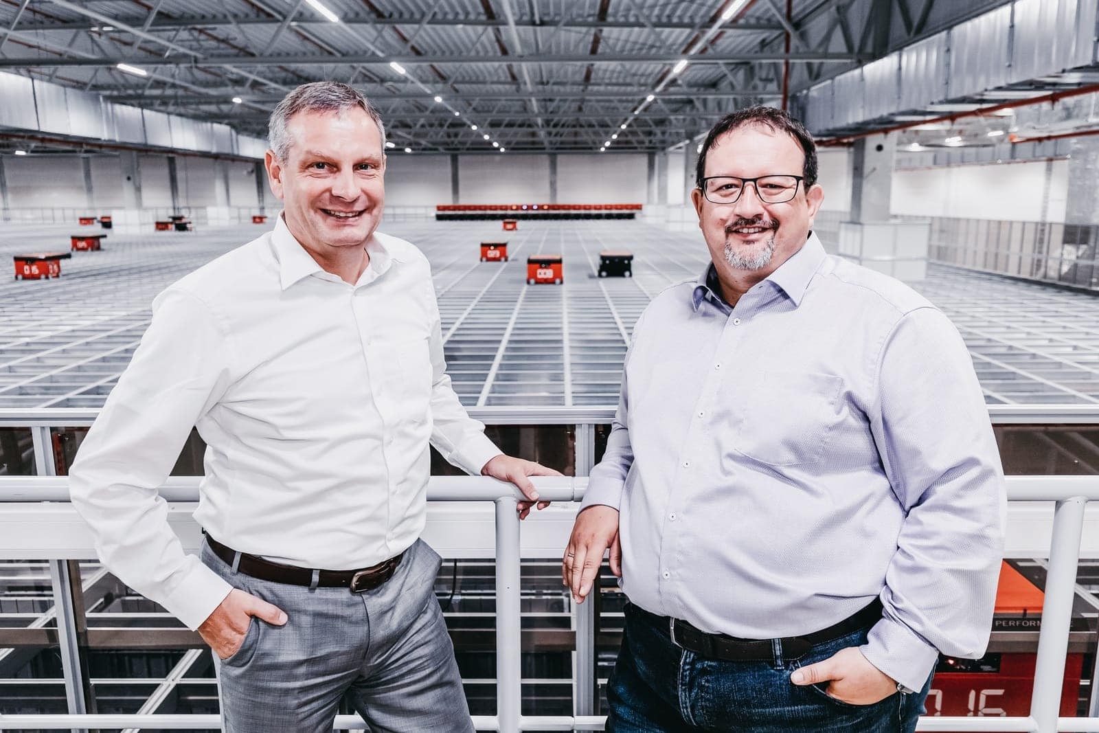 Thomas Rolle (left), Vice President European Operations at TTI and Michael Kawalier, Managing Director Sales
