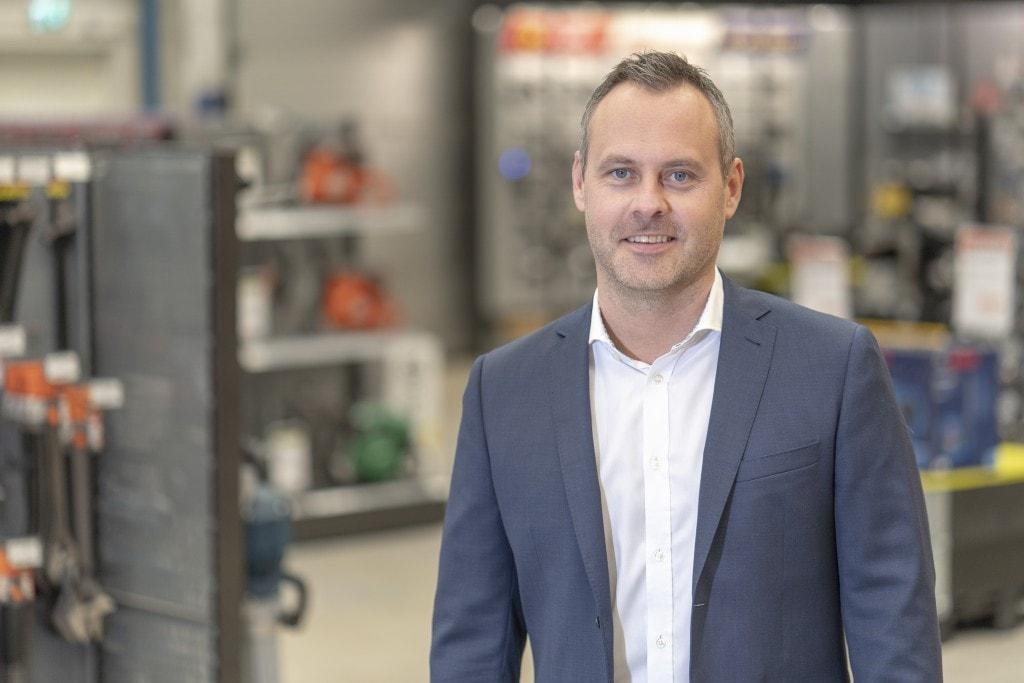 Pontus Glasberg, CLO/Logistikchef, Swedol