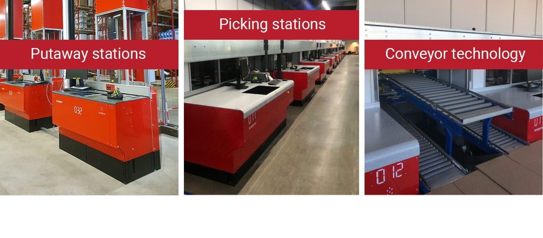 AutoStore ports at solar